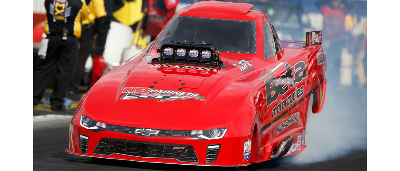 NHRA Top Alcohol Funny Car. Photo courtesy of NHRA