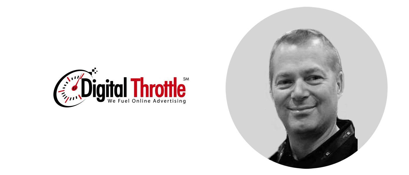 Joe Didato, new Sales Director at Digital Throttle