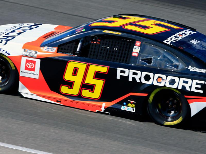Leavine Family Racing (LFR) No. 95 car on track