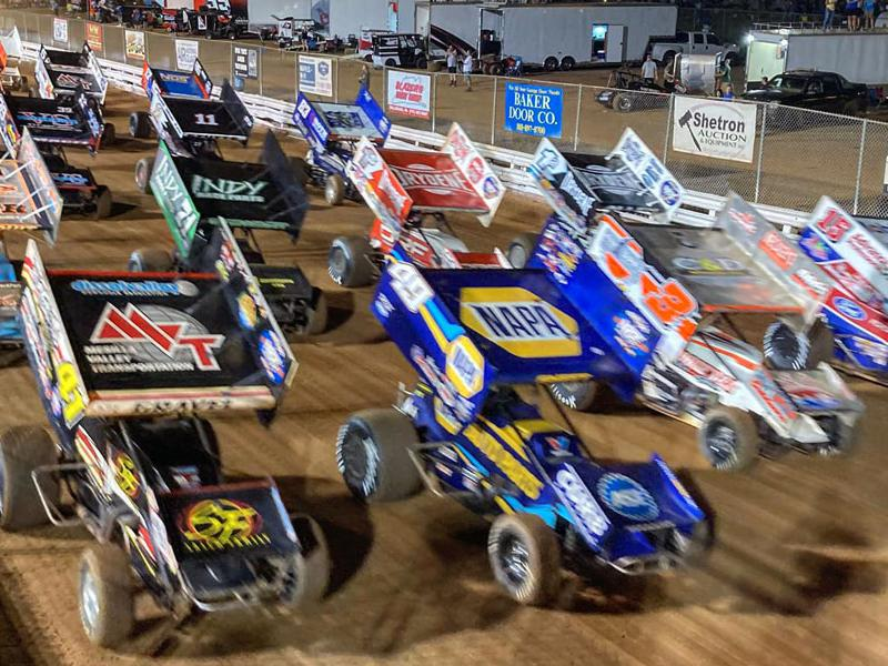 World of Outlaws Sprint Cars at Williams Grove Speedway