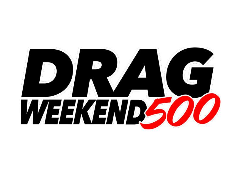 Drag Weekend 500 logo