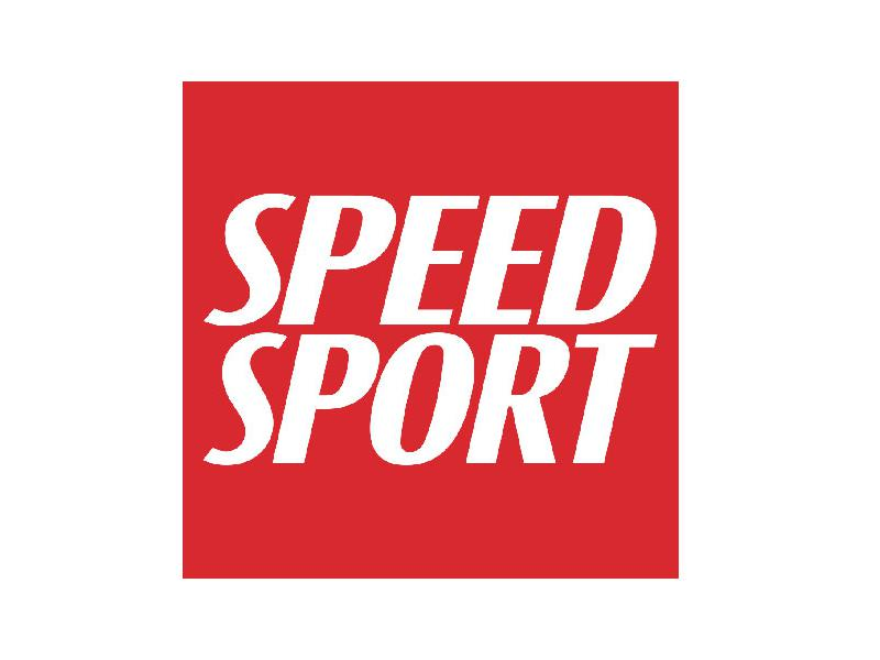 SPEED SPORT logo and photo of Mark Carter, new SPEED SPORT VP of sales and business development
