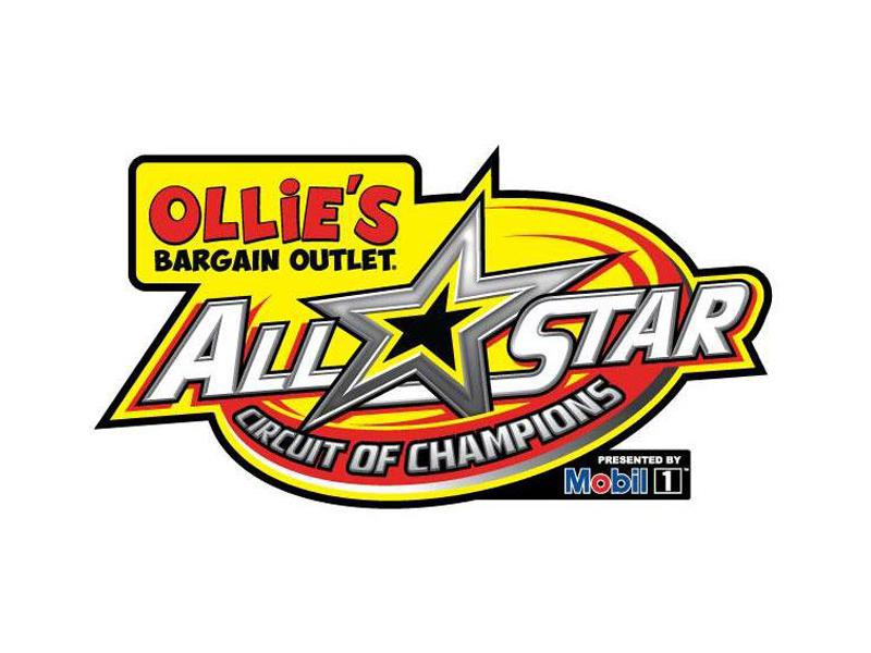 Ollie's Bargain Outlet All Star Circuit of Champions presented by Mobil 1 logo