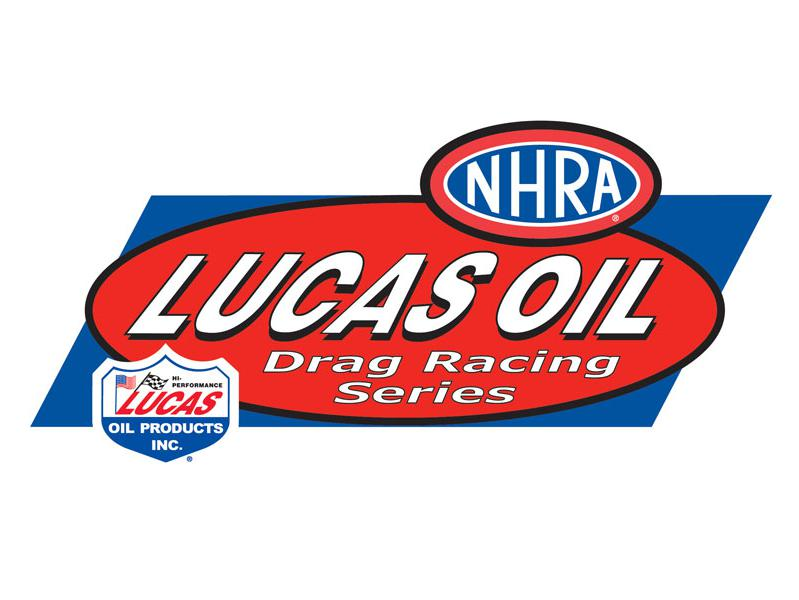 NHRA Lucas Oil Drag Racing Series logo