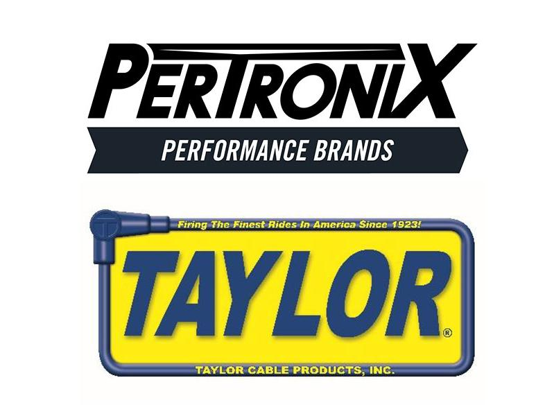 PerTronix Performance Brands logo, Taylor Cable Products logo